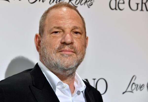 L'ancien producteur Harvey Weinstein, le 23 mai 2017 à Antibes (France)