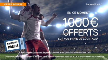 BourseDirect Foot 12s Offre