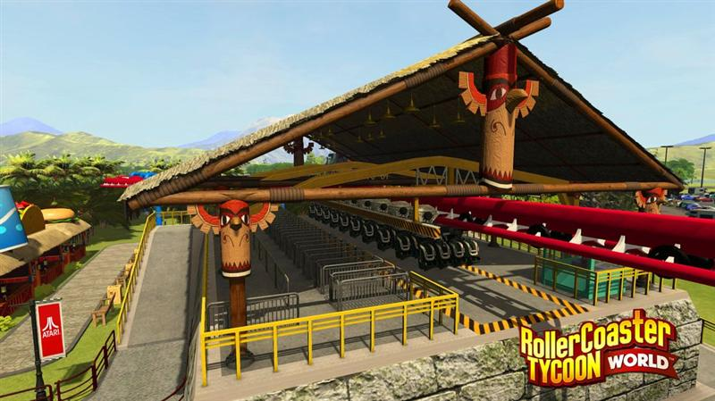 Atari : expansion en Asie de RollerCoaster Tycoon Touch sur mobiles