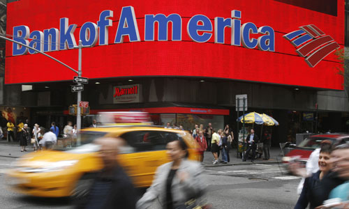 Bank of America : jour J