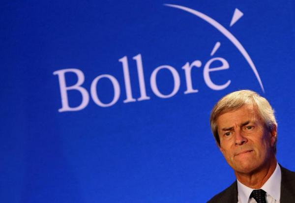 Bolloré exerce une partie de ses options Vivendi