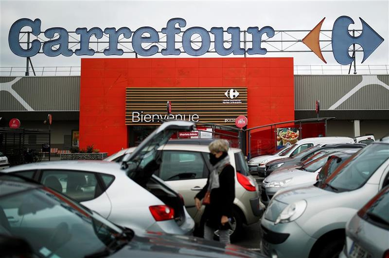 Carrefour : poursuit sa hausse