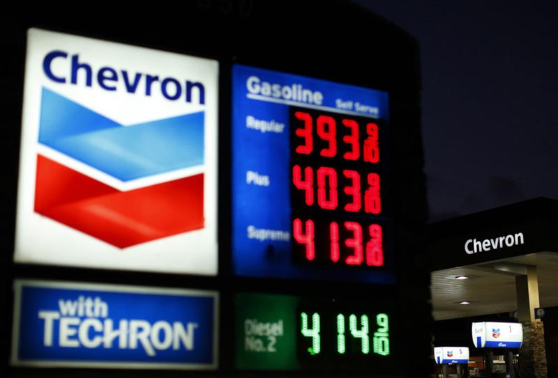 Chevron : résultats en progression