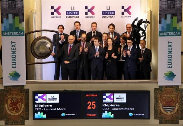 "Klepierre tient son ""INVESTOR DAY"" aux Pays-Bas"