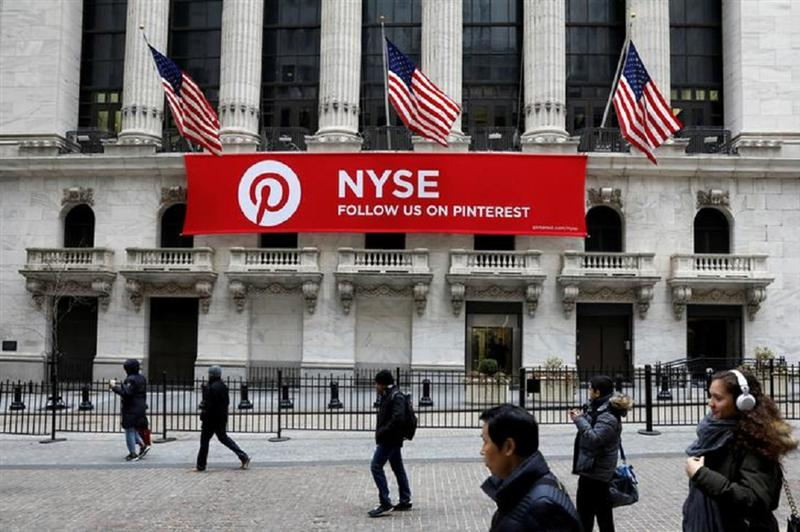 Pinterest valorisé près de 13 milliards de dollars pour son introduction à Wall Street