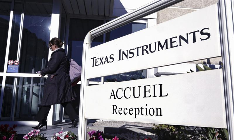 Texas Instruments : une solide publication