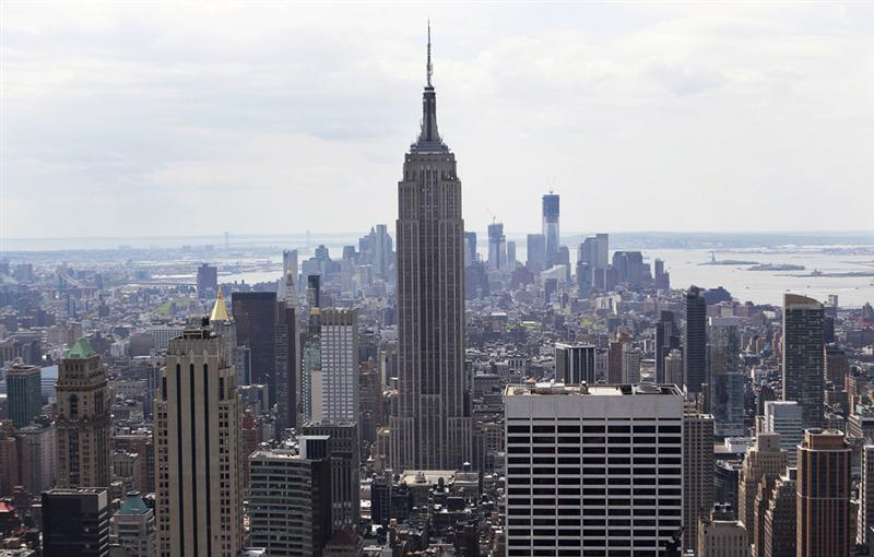 US / Eco : un 'Empire State' impressionnant