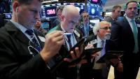 Wall Street corrige sur fond d'aversion au risque