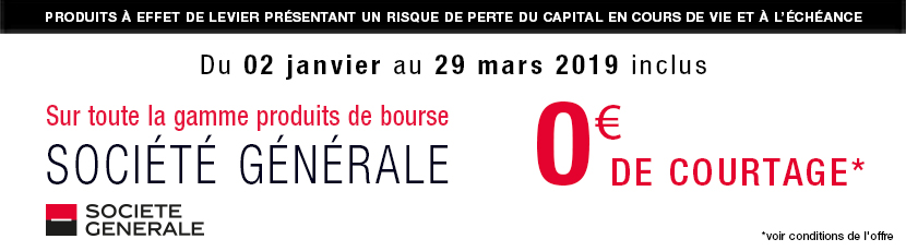 Offre Free Trade Bourse Direct